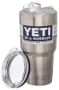 YETI 30 OZ Rambler Stainless Steel Vacuum Insulated Tumblers w/ Lid